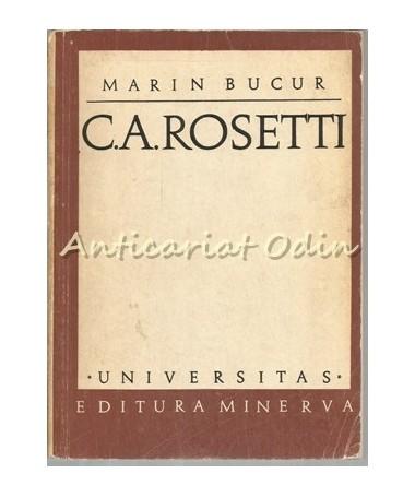 C. A. Rosetti - Marin Bucur