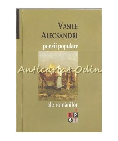 Poezii Populare Ale Romanilor - Vasile Alecsandri