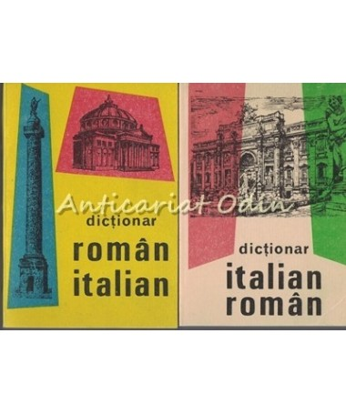 Dictionar Italian-Roman, Roman-Italian I, II - Alexandru Balaci