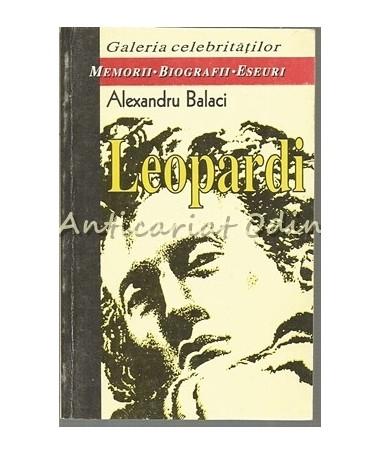 Leopardi - Alexandru Balaci