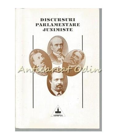 Discursuri Parlamentare Junimiste - Vasile Alecsandri, Nicolae Gane