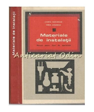 37229_Chirita_Athanasie_Materiale_Instalatii_Manual
