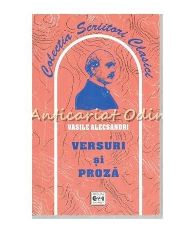 Versuri Si Proza - Vasile Alecsandri