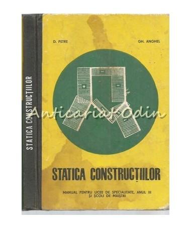 39001_Petre_Anghel_Statica_Constructiilor