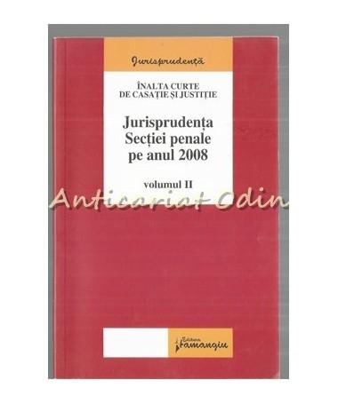39122_Jurisprudenta_Sectiei_Penale_2008
