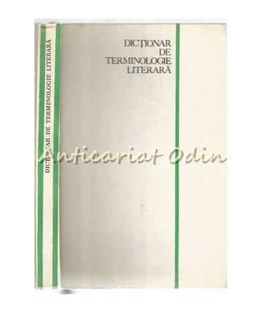 Dictionar De Terminologie Literara - Emil Boldan
