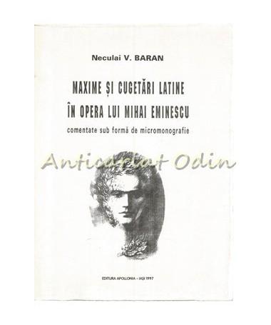 39550_Baran_Maxime_Cugetari_Latine_Eminescu