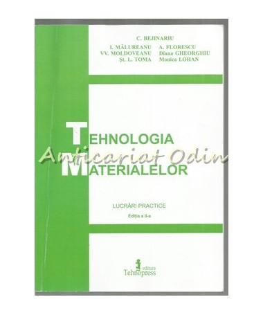 39765_Bejinariu_Tehnologia_Materialelor