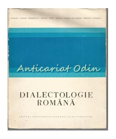 38078_Caragiu_Marioteanu_Dialectologie_Romana