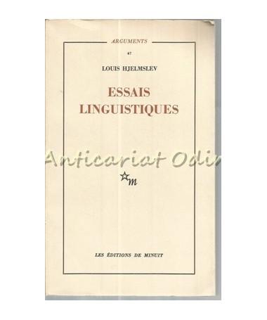 Essais Linguistiques - Louis Hjelmslev