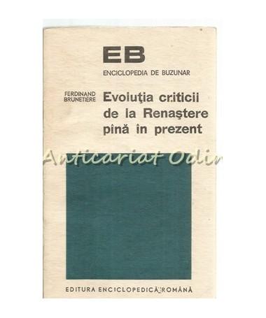 39815_Ferdinand_Brunetiere_Evolutia_Criticii