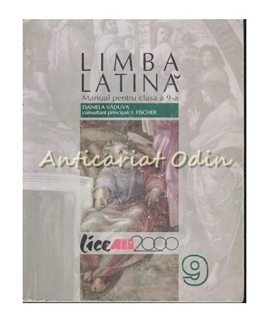 40000_Vaduva_Limba_Latina_Manual_Clasa_IX