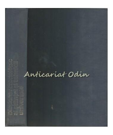 Dictionar Cronologic Al Stiintei Si Tehnicii Universale - Stefan Balan