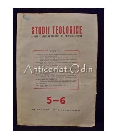 Studii Teologice Nr. V-VI/1956 - P. F. Justinian