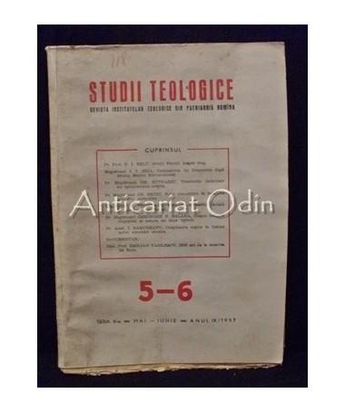 Studii Teologice Nr. V-VI/ 1957 - P. F. Justinian