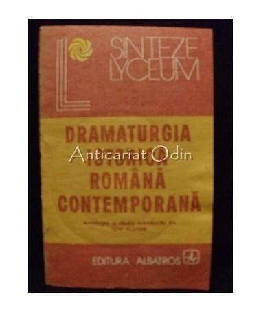 Dramaturgia Istorica Romana Contemporana - Ion Nistor