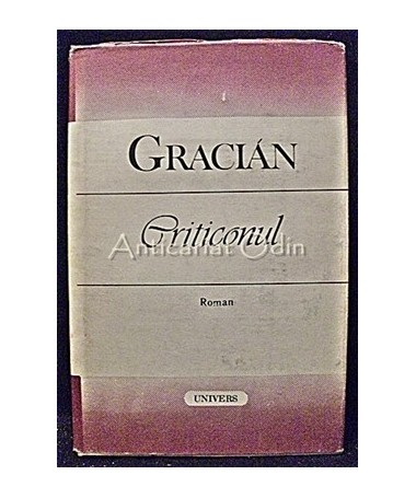Criticonul - Baltasar Gracian