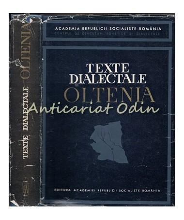 Texte Dialectale Oltenia - Boris Cazacu