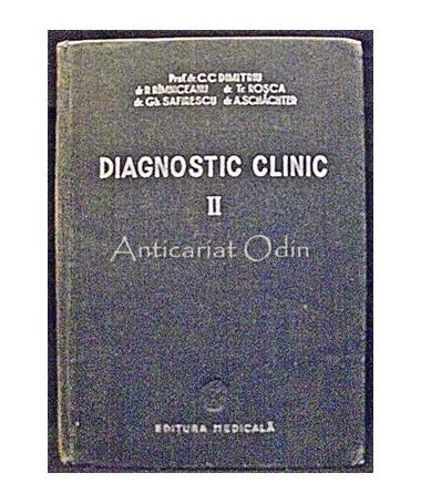 Diagnostic Clinic - C. C. Dimitriu, R. Rimniceanu, Tr. Rosca