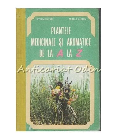 Plantele Medicinale Si Aromatice De La A La Z - Ovidiu Bojor, Mircea Alexan