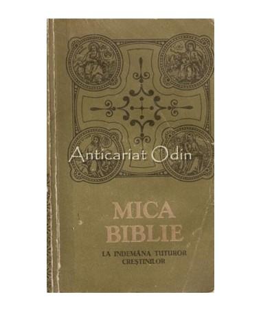 Mica Biblie Cu Icoane La Indemana Tuturor Crestinilor - Chisinau 1990