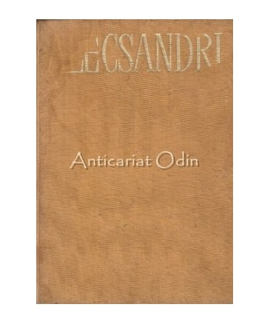 Opere - Vasile Alecsandri