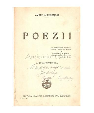 Poezii - Vasile Alecsandri - 1927