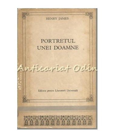 Portretul Unei Doamne - Henry James