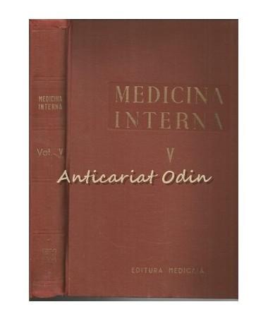 Medicina Interna V - Vasele, Aparatul Locomotor, Rinichiul - N. G. Lupu