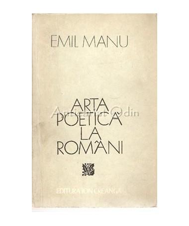 Arta Poetica La Romani - Emil Manu