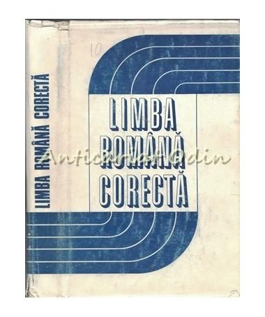Limba Romana Corecta - Vasile Breban, Maria Bojan, Elena Comsulea